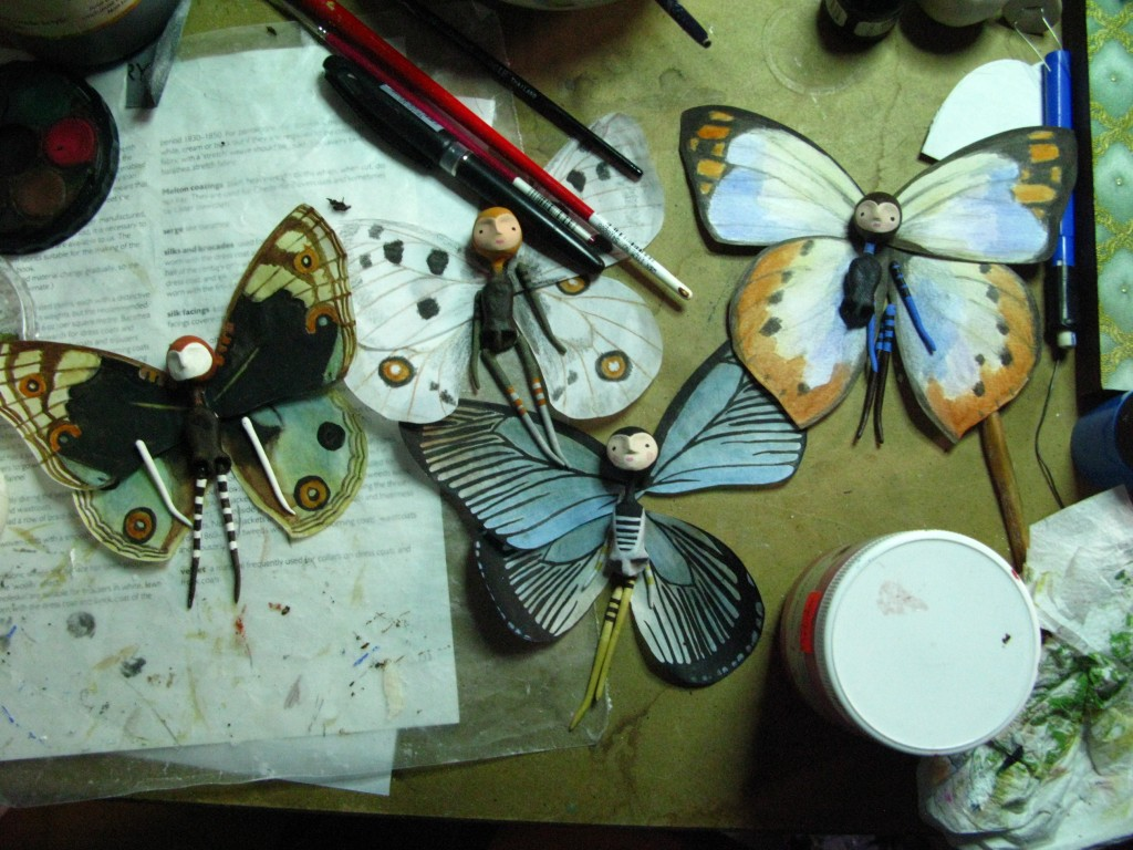 Butterflies in Progress